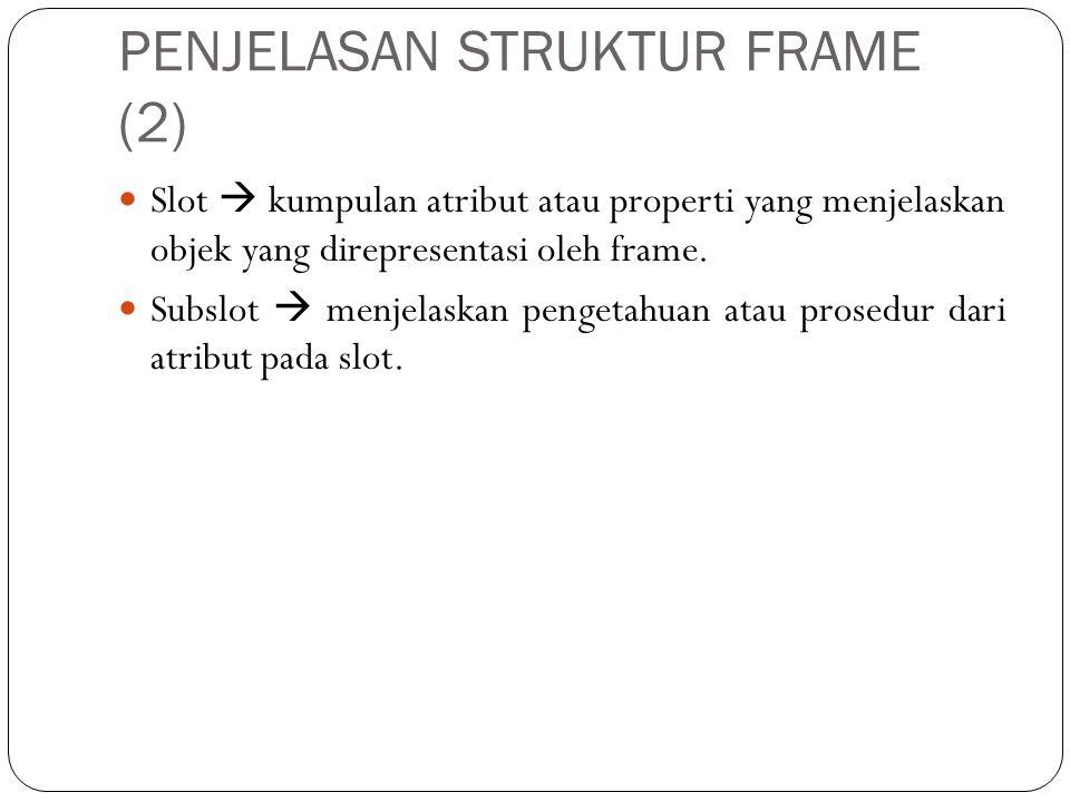 PENJELASAN STRUKTUR FRAME (2)