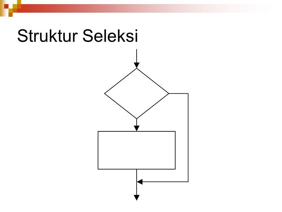 Struktur Seleksi