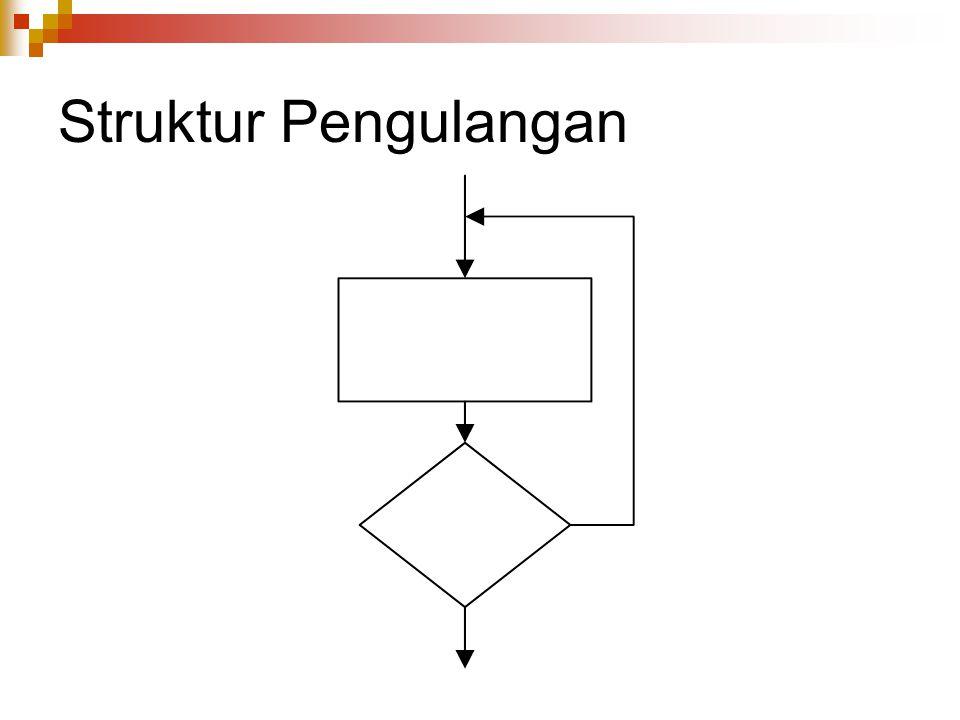 Struktur Pengulangan