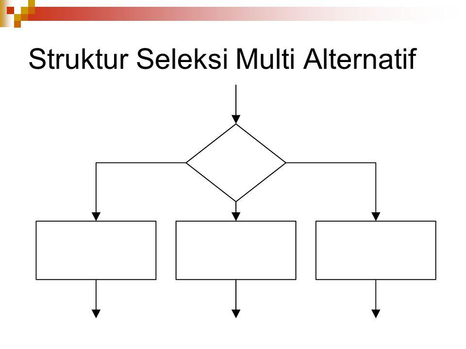 Struktur Seleksi Multi Alternatif