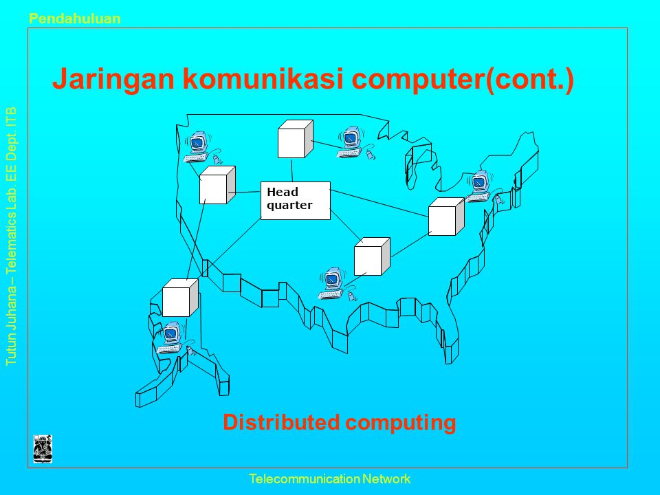 Distributed computing