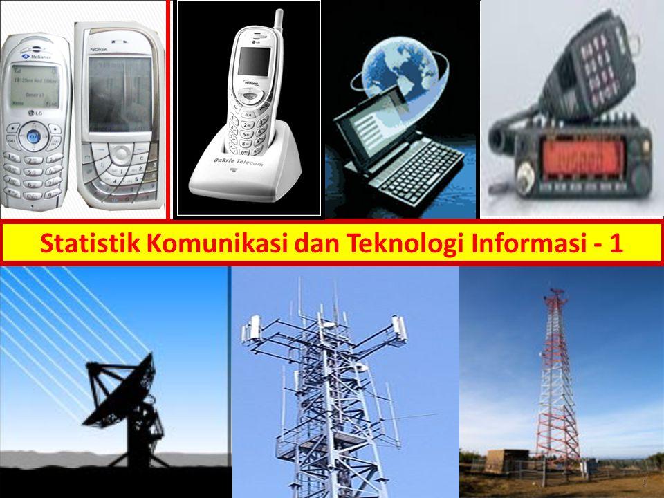 Statistik Komunikasi dan Teknologi Informasi - 1
