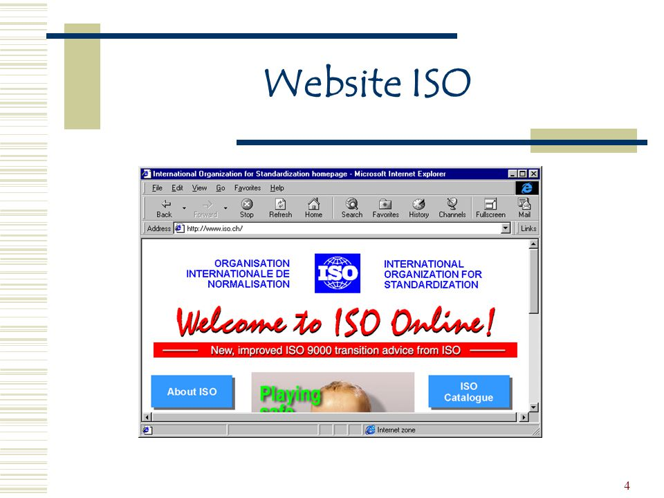 Website ISO
