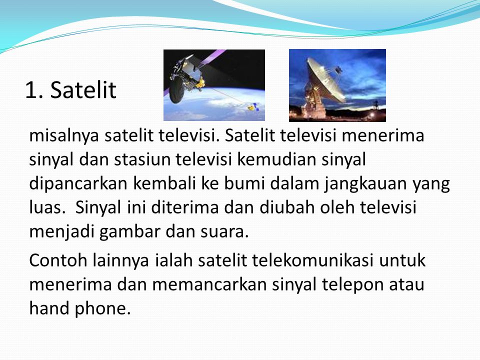 1. Satelit