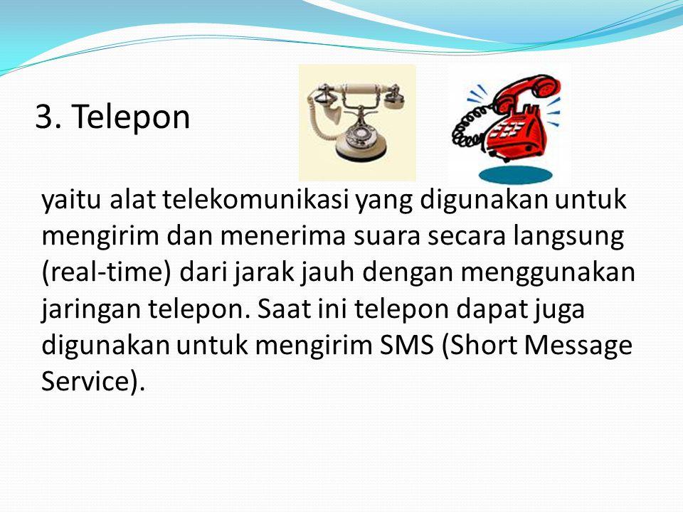 3. Telepon