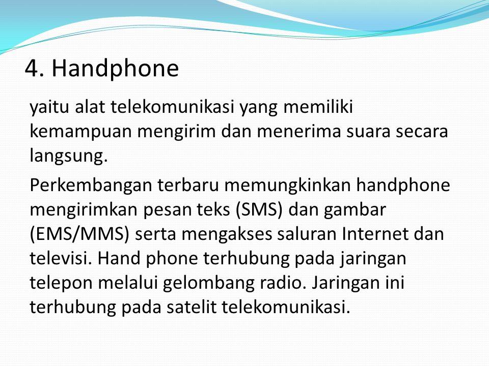 4. Handphone