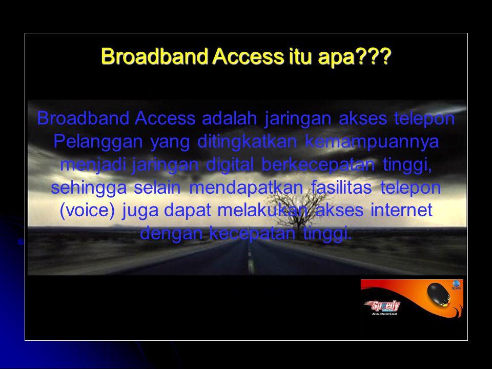 Broadband Access itu apa
