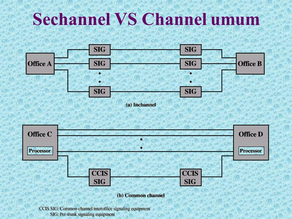 Sechannel VS Channel umum