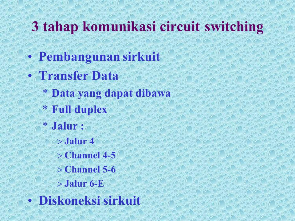 3 tahap komunikasi circuit switching