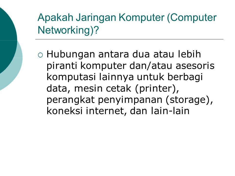 Apakah Jaringan Komputer (Computer Networking)