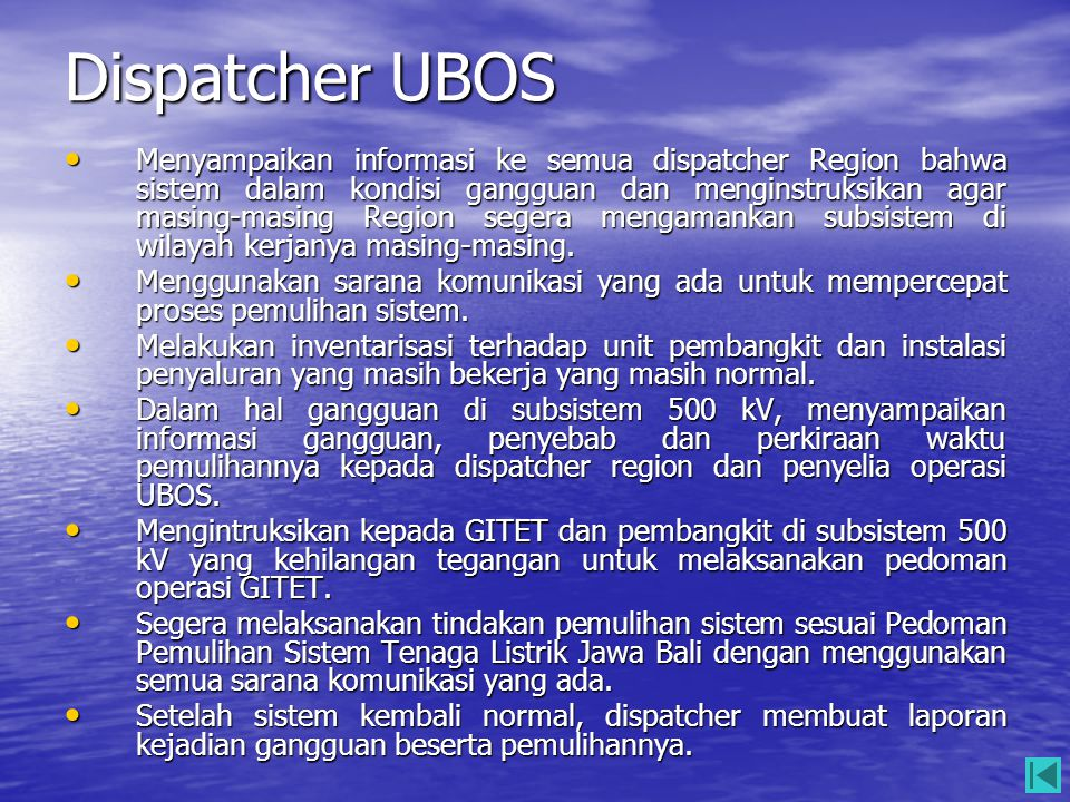 Dispatcher UBOS