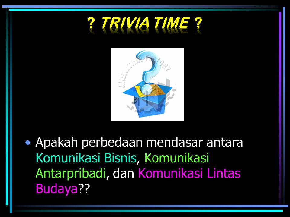 Trivia Time .