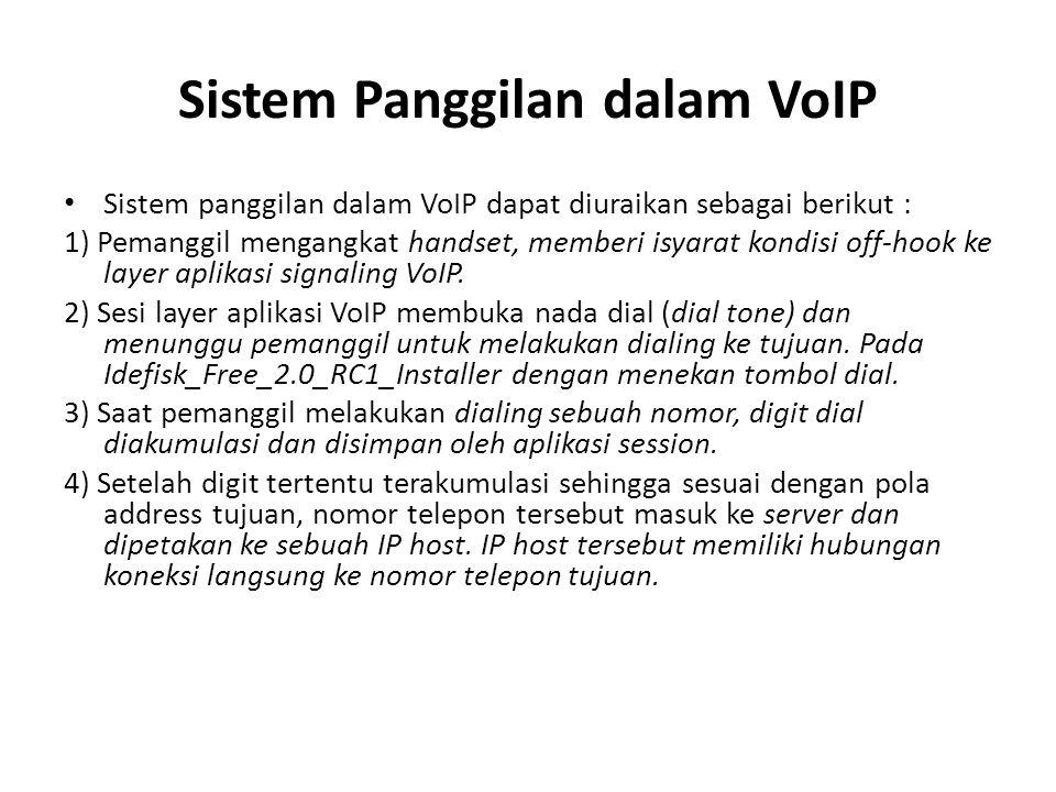 Sistem Panggilan dalam VoIP