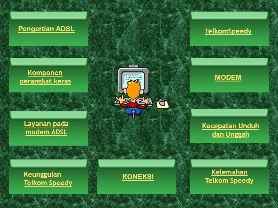 Komponen perangkat keras MODEM