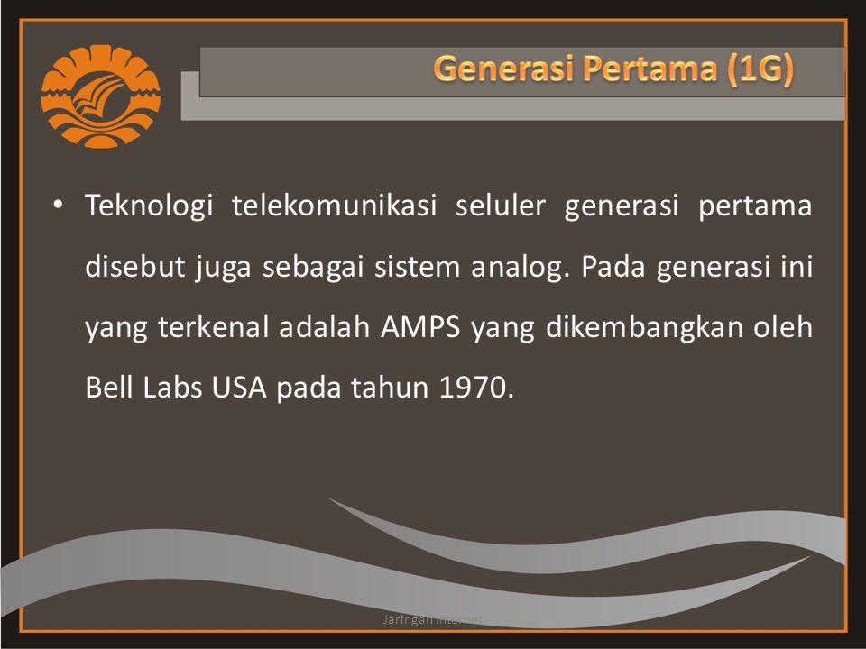 Generasi Pertama (1G)