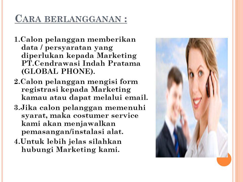 Cara berlangganan :