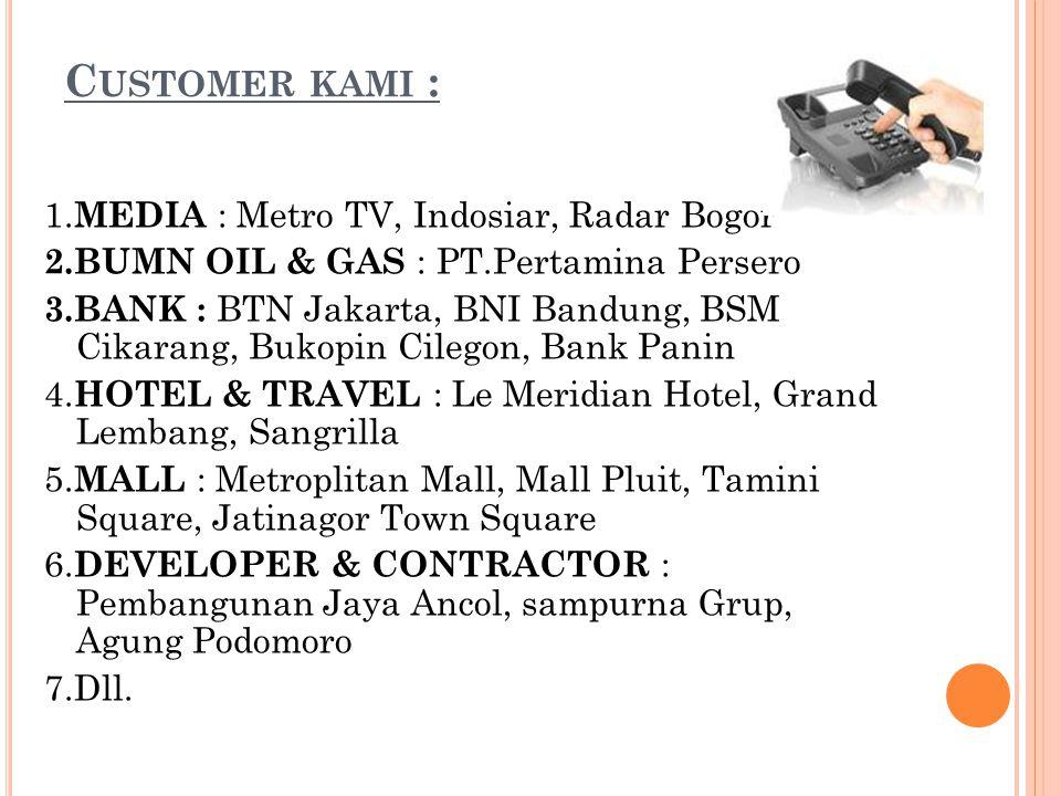 Customer kami :