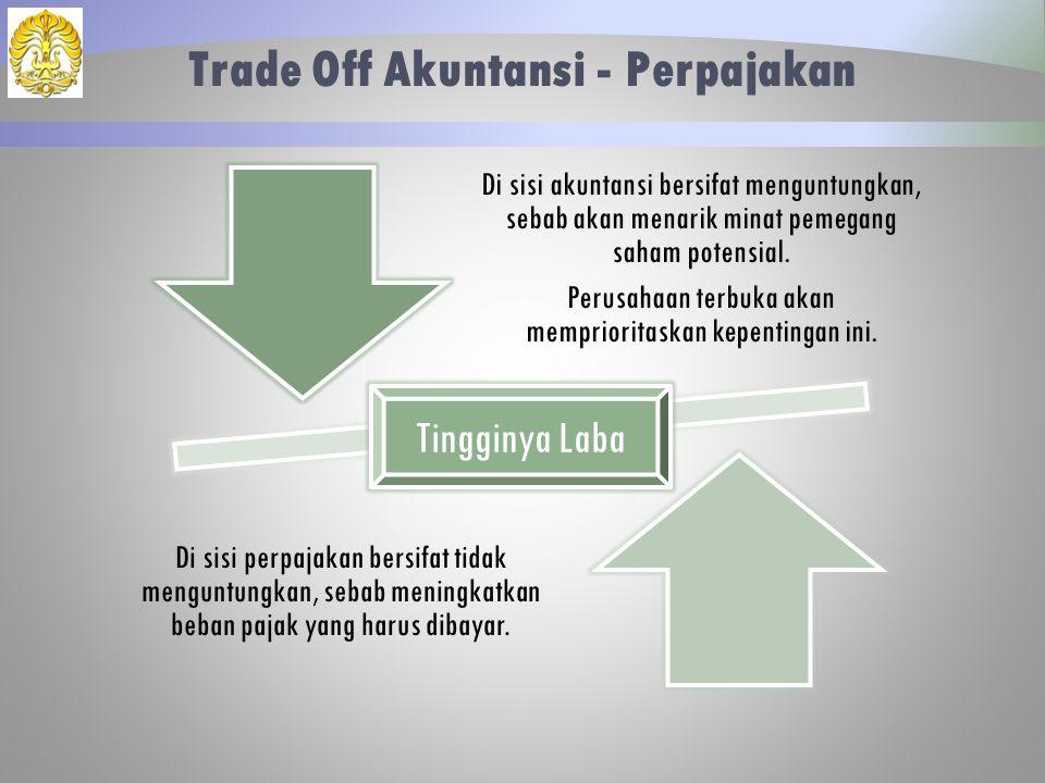 Trade Off Akuntansi - Perpajakan