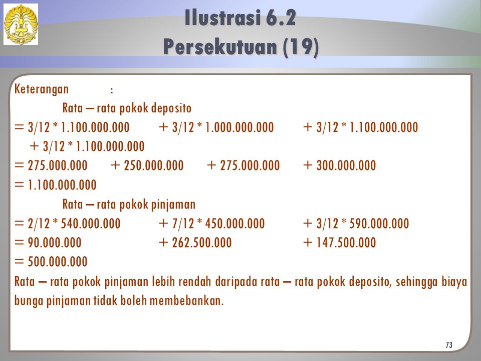 Ilustrasi 6.2 Persekutuan (19)