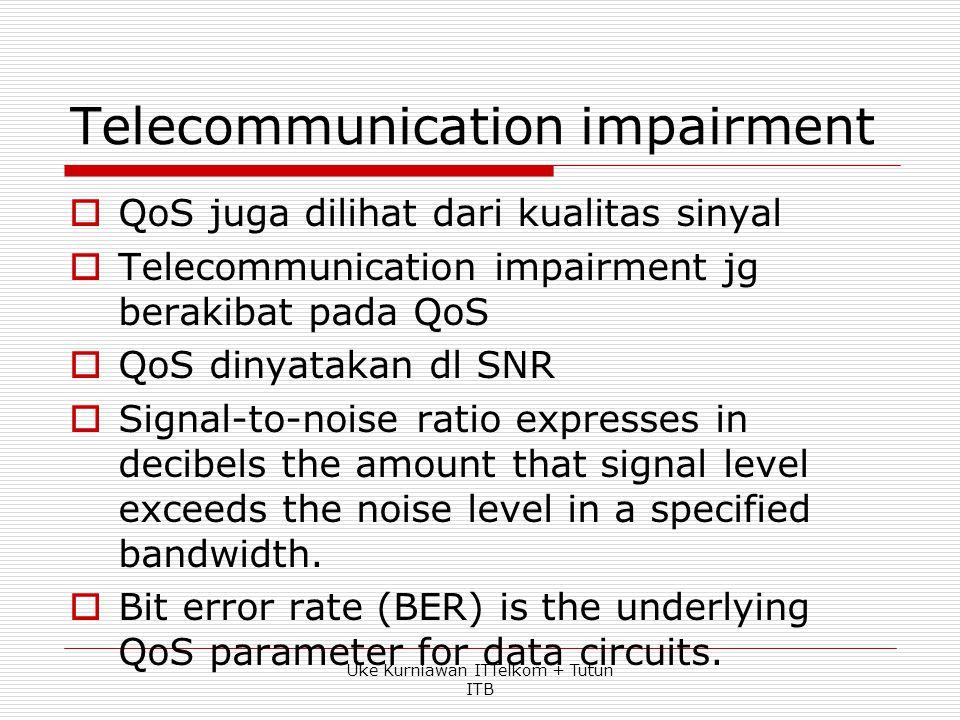 Telecommunication impairment