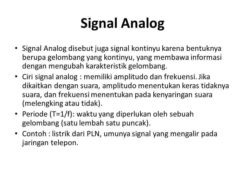 Signal Analog