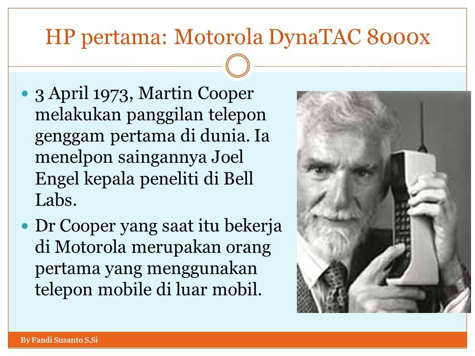 HP pertama: Motorola DynaTAC 8000x