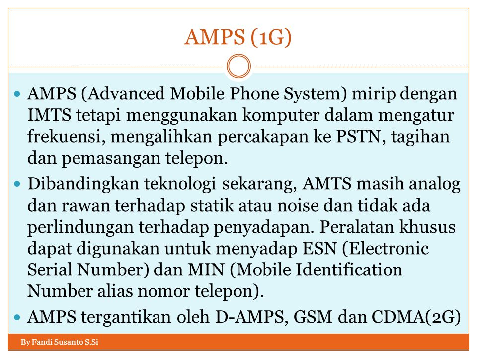 AMPS (1G)