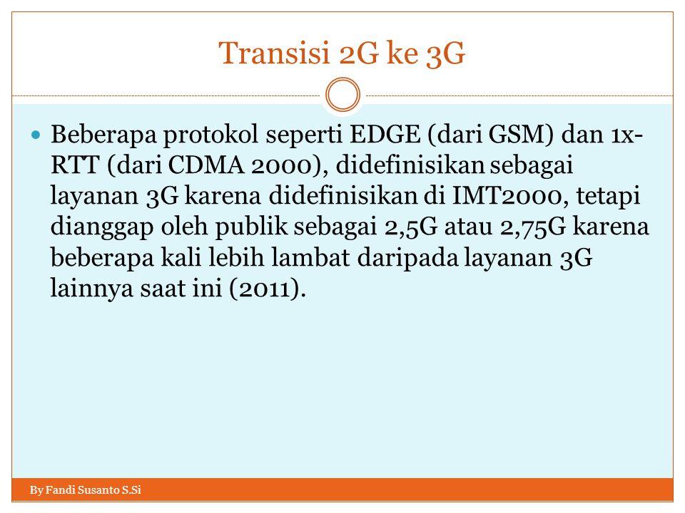 Transisi 2G ke 3G