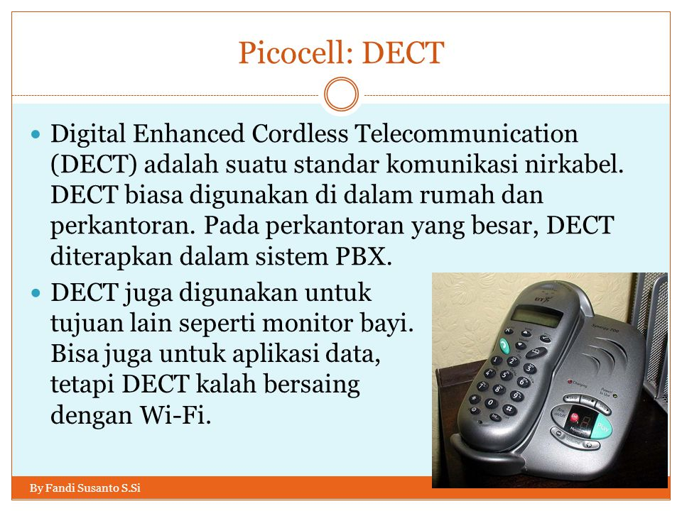 Picocell: DECT