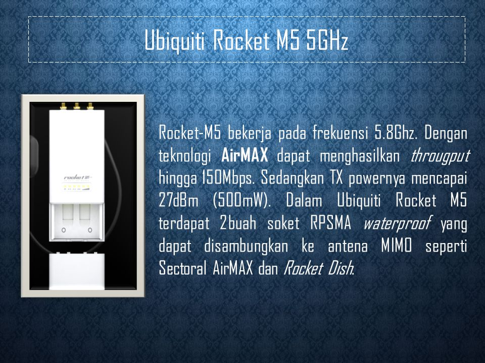 Ubiquiti Rocket M5 5GHz