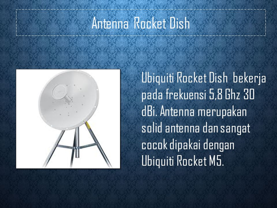 Antenna Rocket Dish