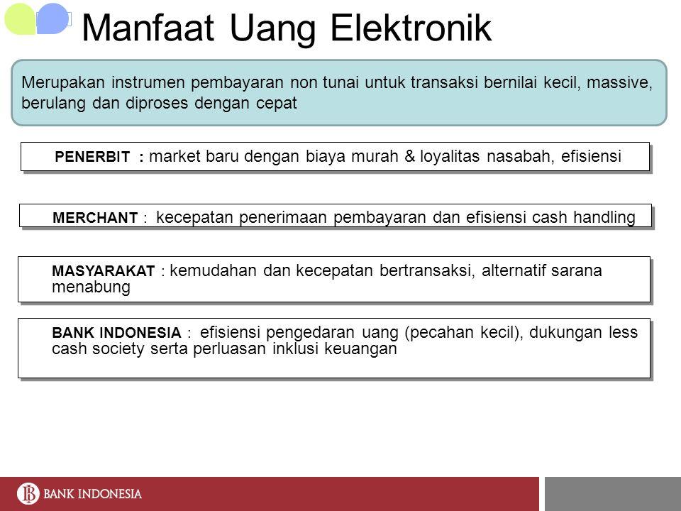 Manfaat Uang Elektronik