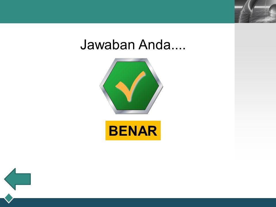 Jawaban Anda.... √ BENAR