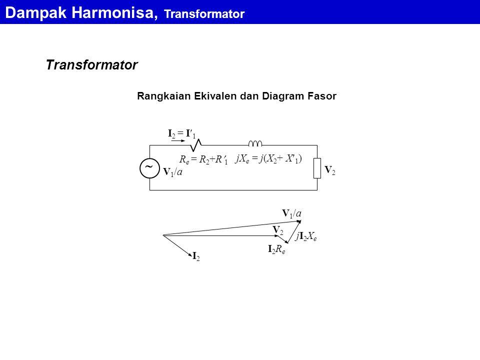 Dampak Harmonisa, Transformator