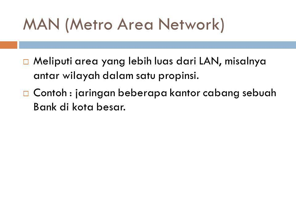 MAN (Metro Area Network)