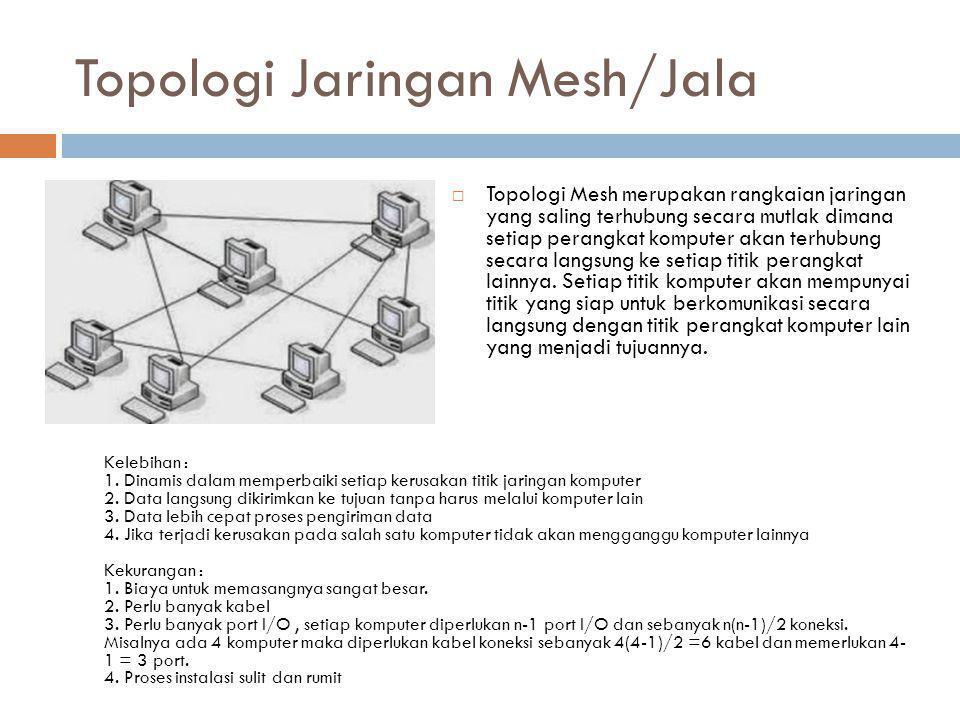 Topologi Jaringan Mesh/Jala