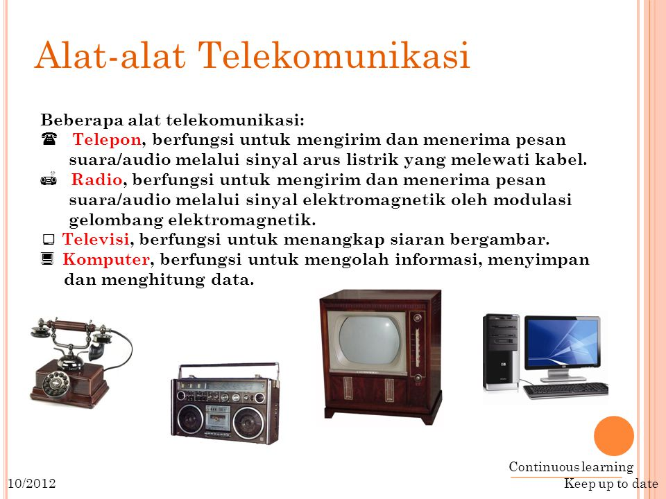 Alat-alat Telekomunikasi