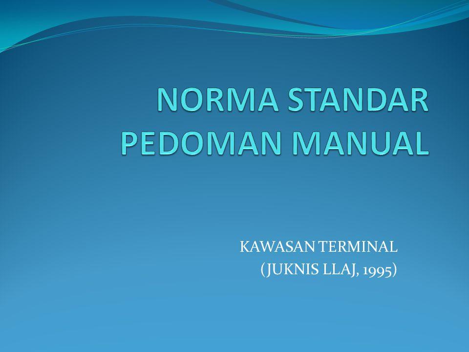 NORMA STANDAR PEDOMAN MANUAL