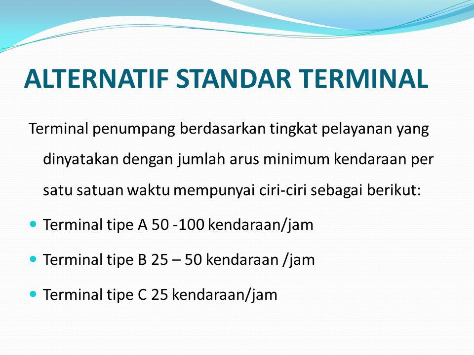 ALTERNATIF STANDAR TERMINAL