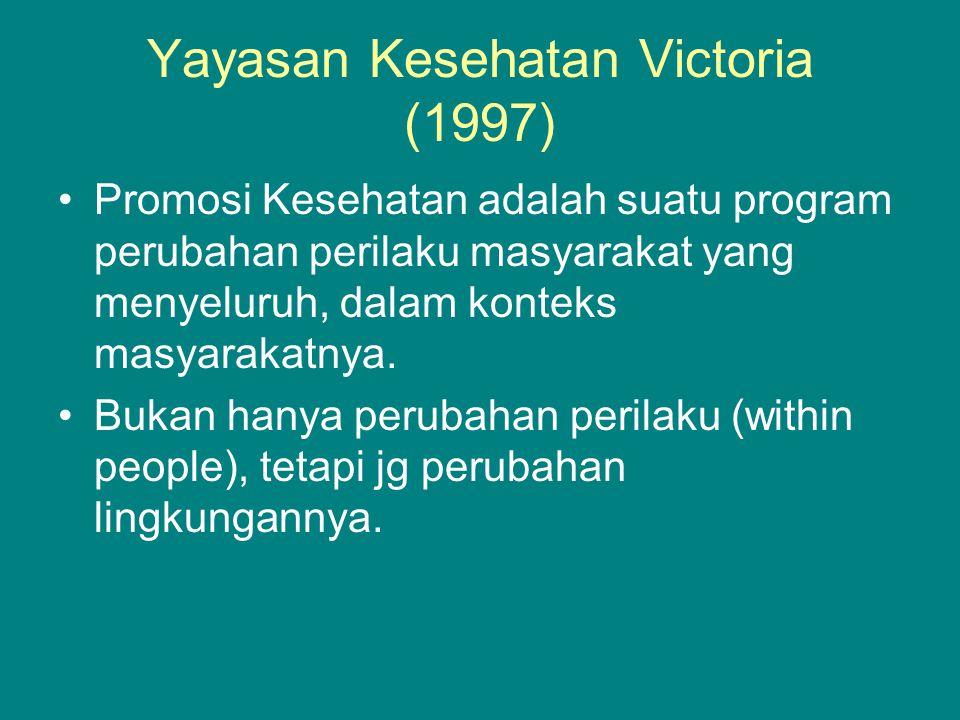 Yayasan Kesehatan Victoria (1997)