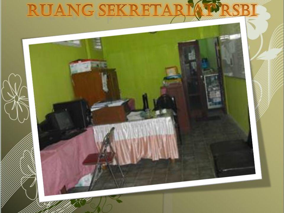 Ruang sekretariat RSBI