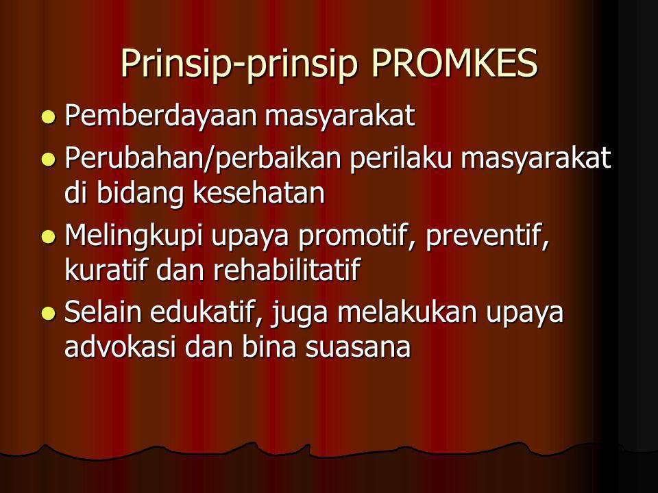 Prinsip-prinsip PROMKES