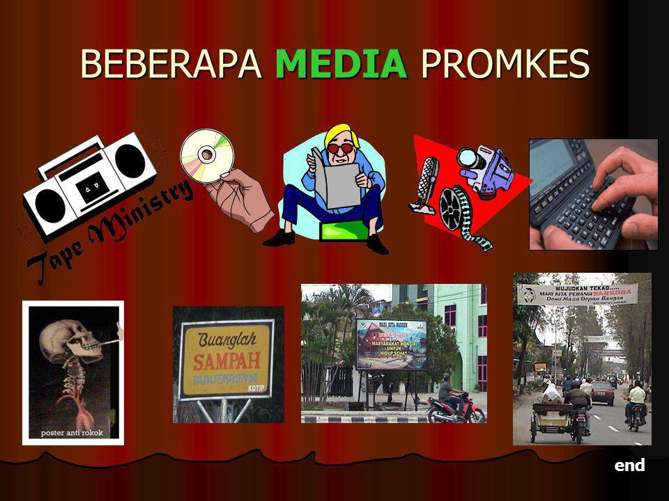 BEBERAPA MEDIA PROMKES