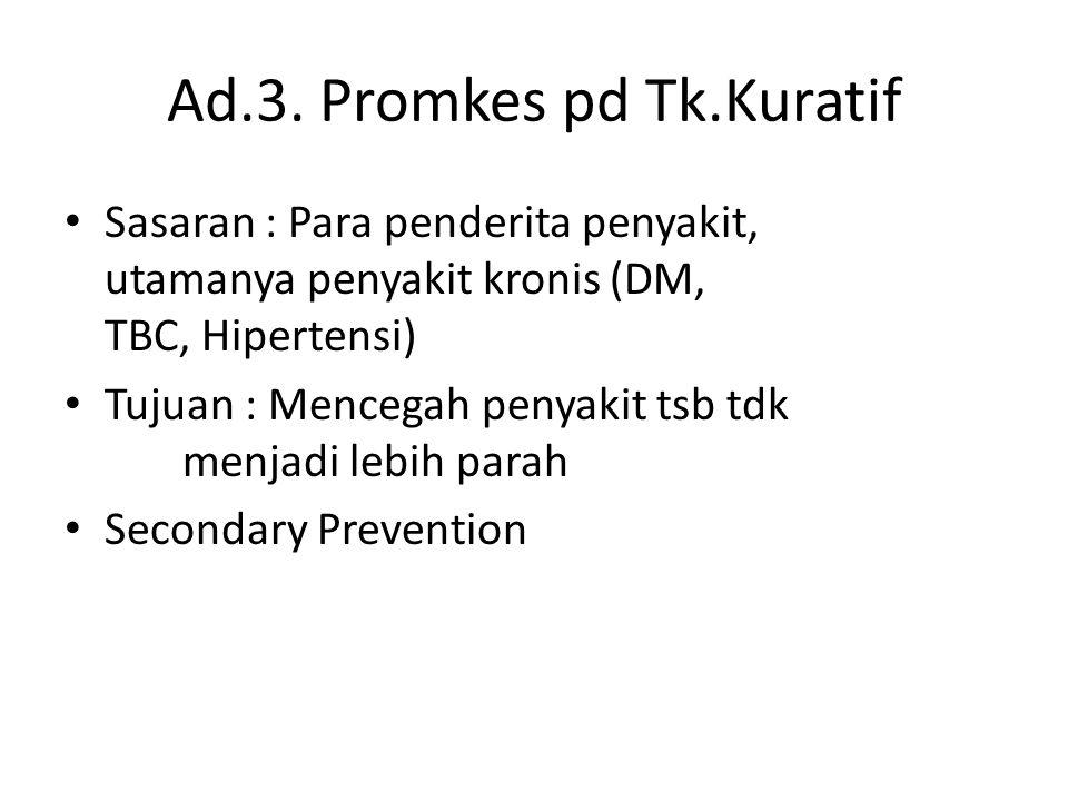 Ad.3. Promkes pd Tk.Kuratif