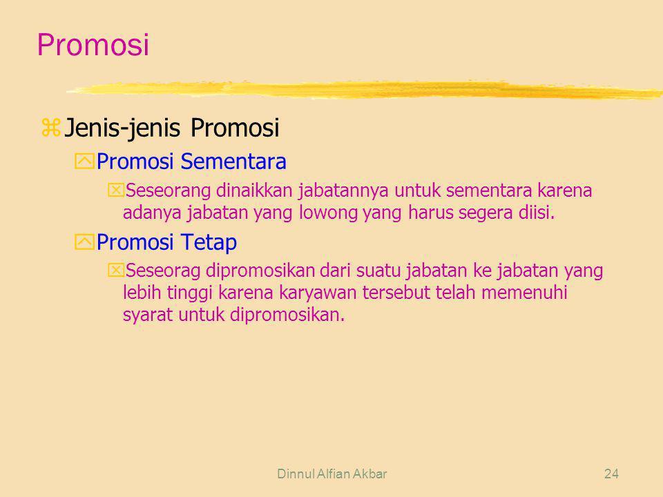 Promosi Jenis-jenis Promosi Promosi Sementara Promosi Tetap
