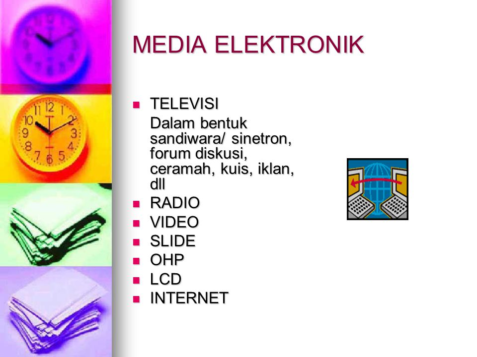 MEDIA ELEKTRONIK TELEVISI