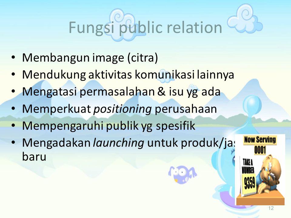 Fungsi public relation
