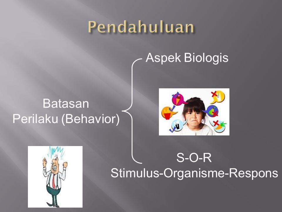 Stimulus-Organisme-Respons