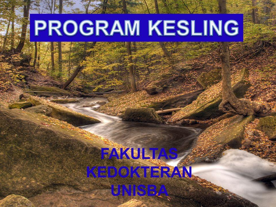 4/3/2017 PROGRAM KESLING FAKULTAS KEDOKTERAN UNISBA