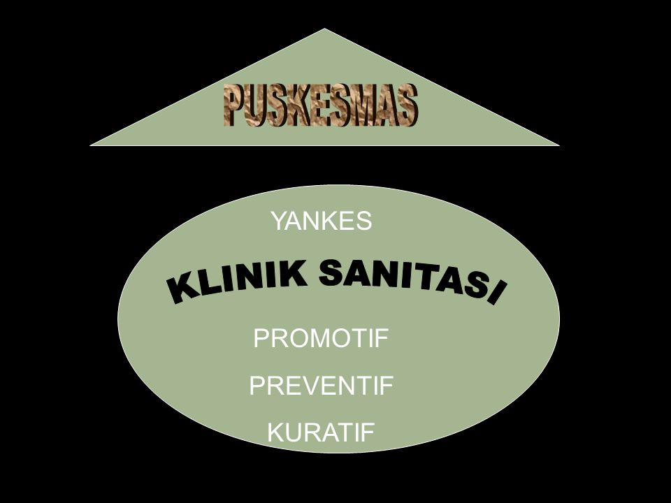 PUSKESMAS YANKES KLINIK SANITASI PROMOTIF PREVENTIF KURATIF